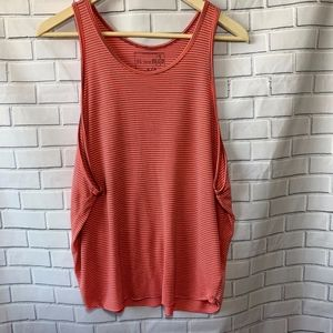 We The Free Distressed Striped Tank Top Size S